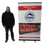 "Roll Up Classic 48*82"" (RC 3) + Printed Banner"