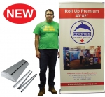 "Roll Up Premium 40*85"" (RP 2) + Printed Banner"