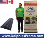 "Roll Up Professional 34*85"" (PRO 1) + Printed Banner"
