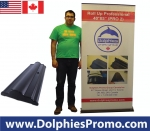 "Roll Up Professional 40*85"" (PRO 2) + Printed Banner"