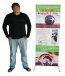 "X-Stand 24*63"" (BS 1) + Printed Banner"
