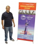 "X-Stand 31*71"" (BS 2) + Printed Banner"