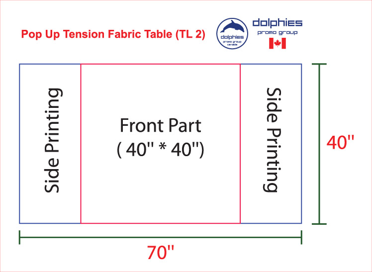 Tension Pop Up Table Template