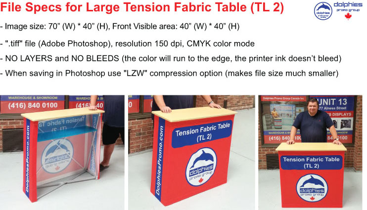 Tension Table TL 2 File Specs