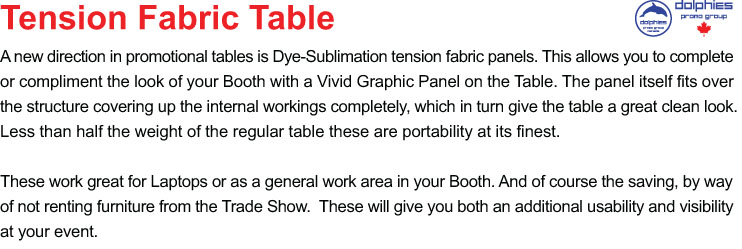 Tension Table TL 2 Gen Info