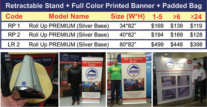 Roll Up PREMIUM with Print Prices