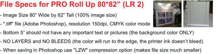 Roll Up WIDE File Specs