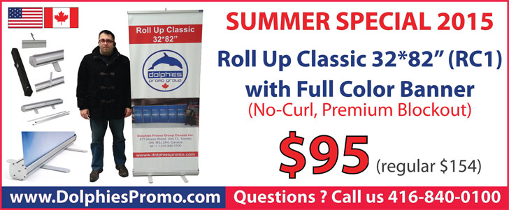 SUMMER SPECIAL 2015 Roll Up Classic